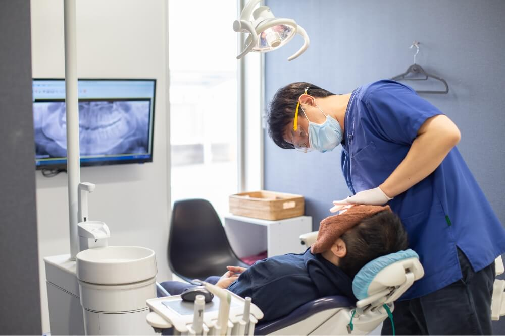 定期的な歯科検診